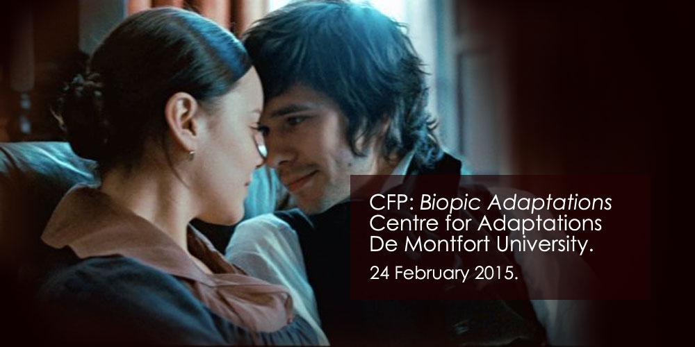 Biopic Adaptations Conference at DMU